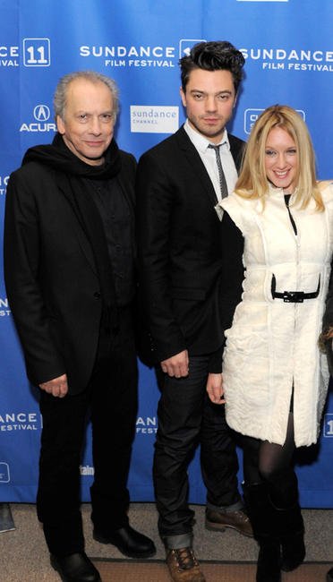 Raad Rawi, Dominic Cooper and Ludivine Sagnier at the premiere of