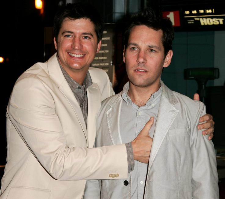 Ken Marino and Paul Rudd at the premiere of