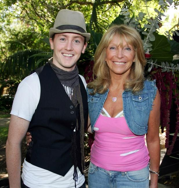 Matt Lee and Bonnie Lythgoe at the launch party for the David Jones Autumn Race wear range.