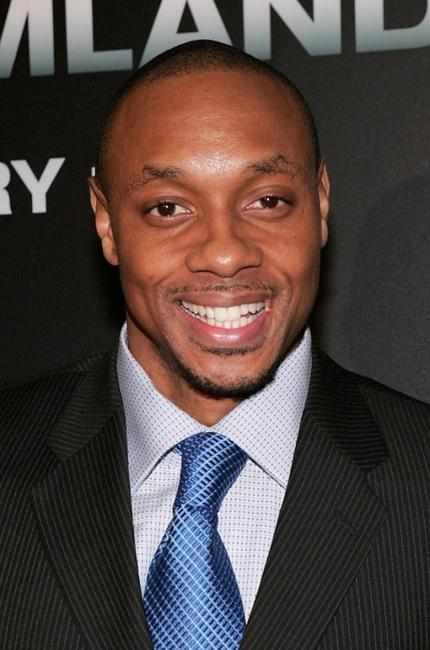 Dorian Missick at the New York premiere of