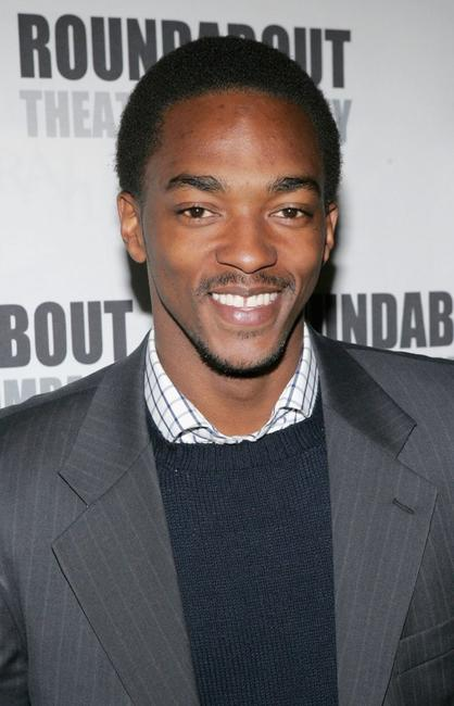 Anthony Mackie at the opening night of