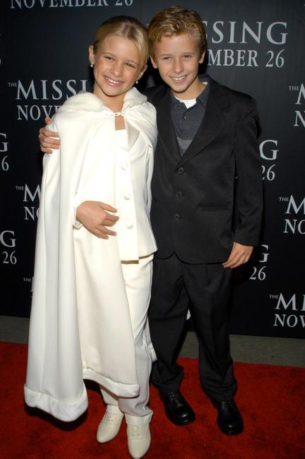 Jenna Boyd and Cayden Boyd at the premiere of