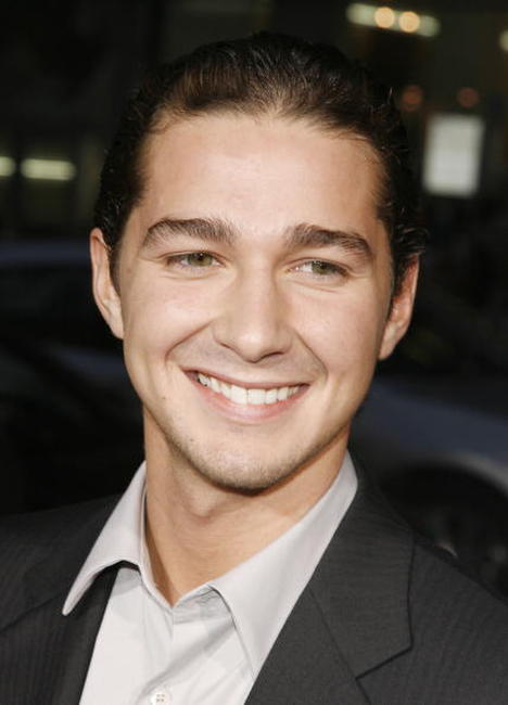 Shia LaBeouf at the L.A. premiere of