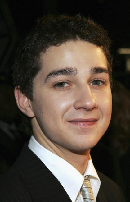Shia LaBeouf the Hollywood premiere of