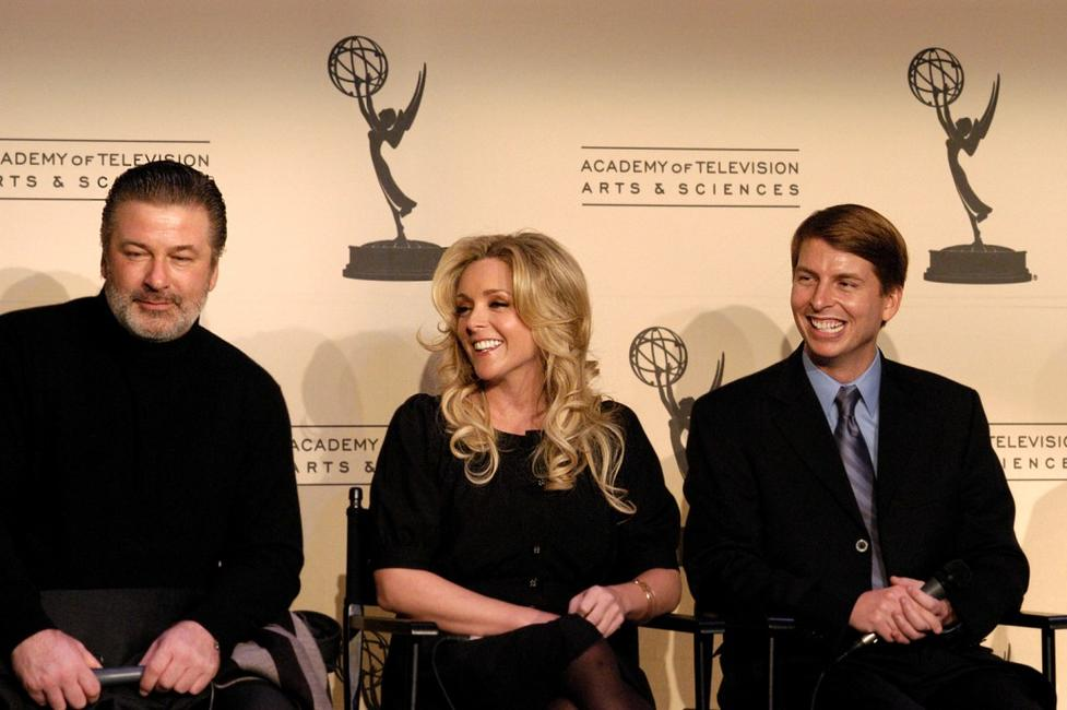 Alec Baldwin, Jane Krakowski and Jack McBrayer at the discussion of