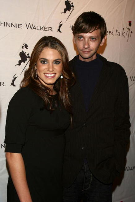 Nikki Reed and DJ Qualls at the Mercedes Benz Fashion Week.
