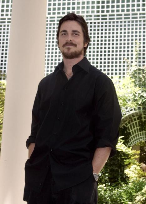 Christian Bale at the photocall of