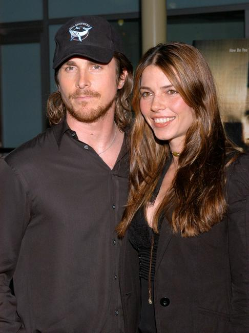 Christian Bale and his wife Sibi Bale at the Variety Screening Series of