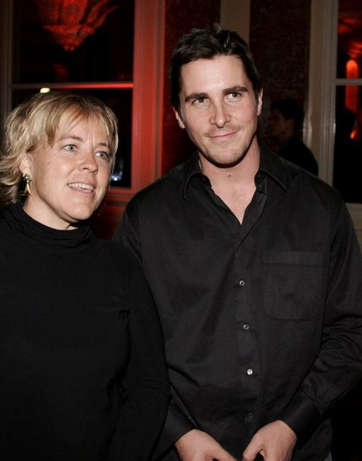 Sarah Green and Christian Bale at the after party of the premiere of