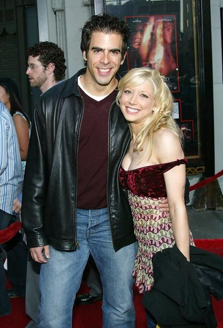 Eli Roth and Courtney Peldon at the world premiere of