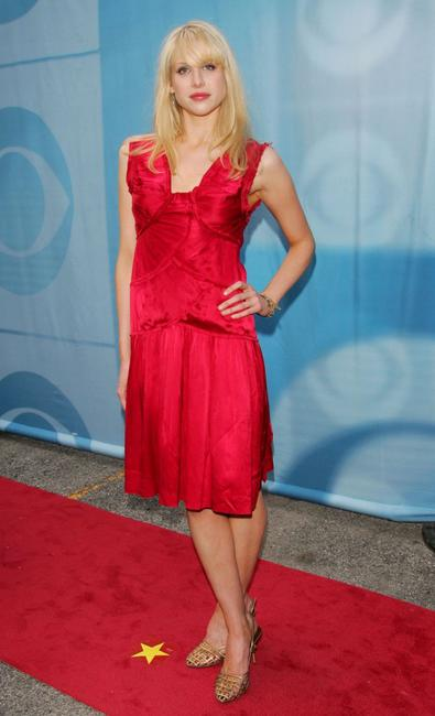 Lucy Punch at the CBS Upfront Presentation.