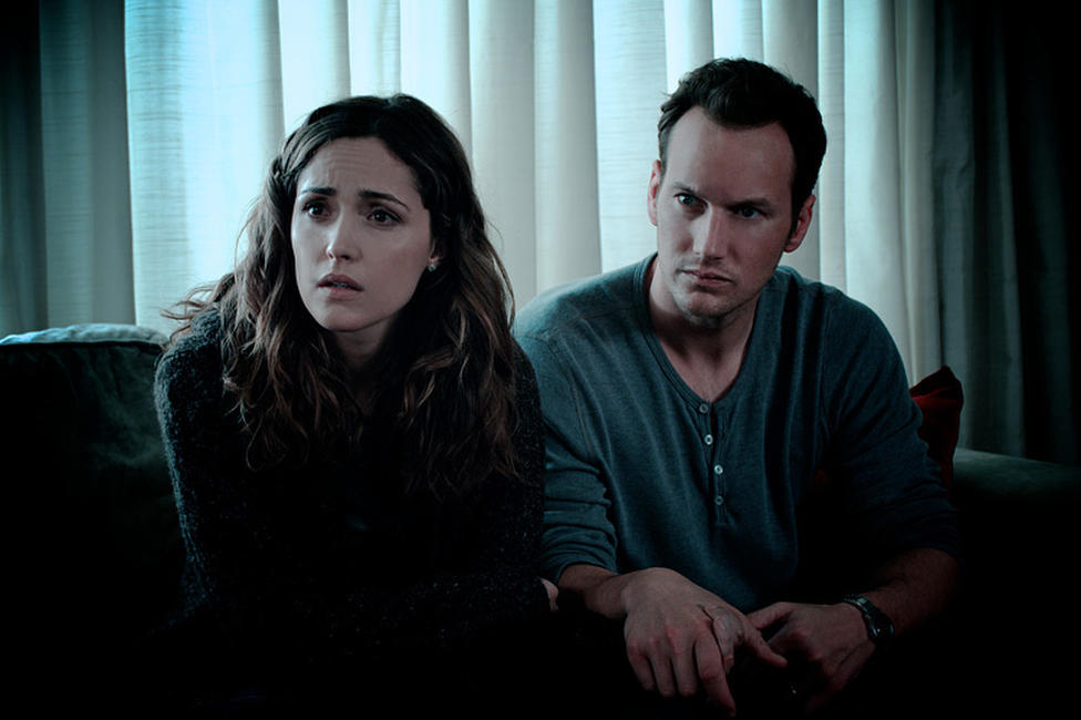 Rose Byrne and Patrick Wilson in