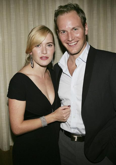 Kate Winslet and Patrick Wilson at the pre-premiere New York Film Festival dinner of