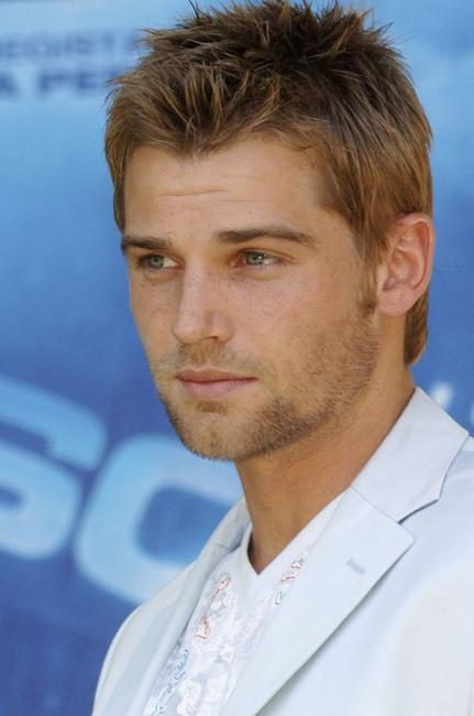 Mike Vogel at the Italian premiere of