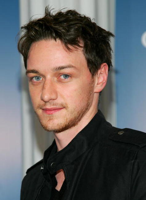 James McAvoy at a
