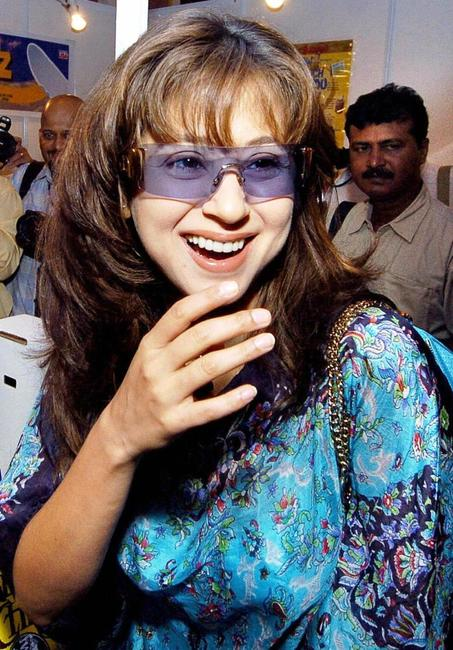 Urmila Matondkar at the Indo-American Chamber of Commerce AmFest 2004 Trade Fair.