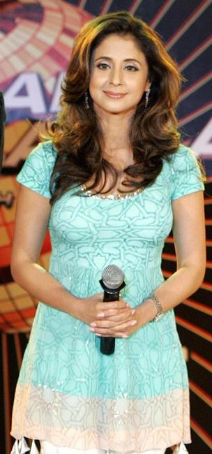 Urmila Matondkar at the television reality show launch in New Delhi.
