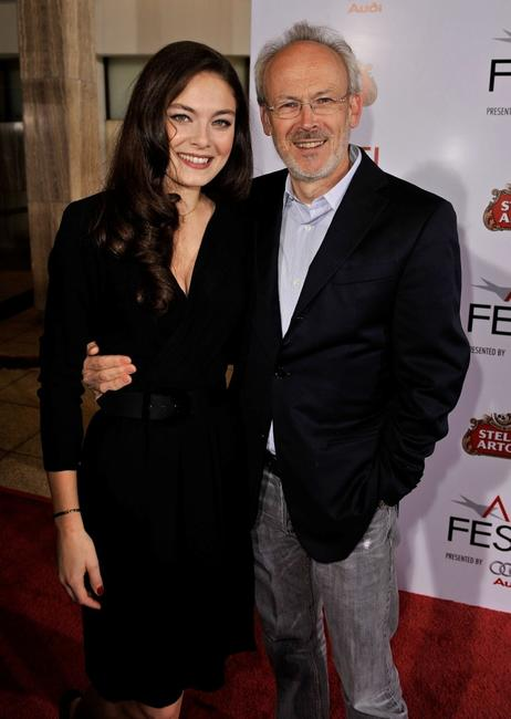 Alexa Davalos and producer Pieter Jan Brugge at the 2008 AFI FEST Closing Night Gala Screening of