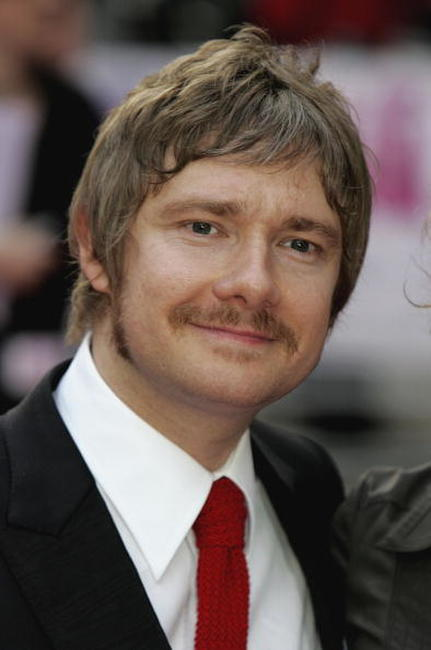 "Martin Freeman at the premiere of ""Confetti"" in London, England."