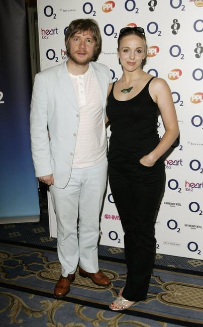 Martin Freeman and Amanda Abbington at the annual awards.