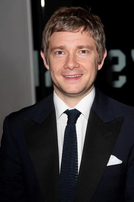 Martin Freeman at the Times BFI 51st London Film Festival opening night gala screening of