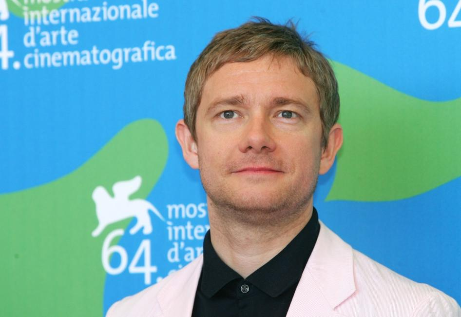 Martin Freeman at the 64th Venice Film Festival.