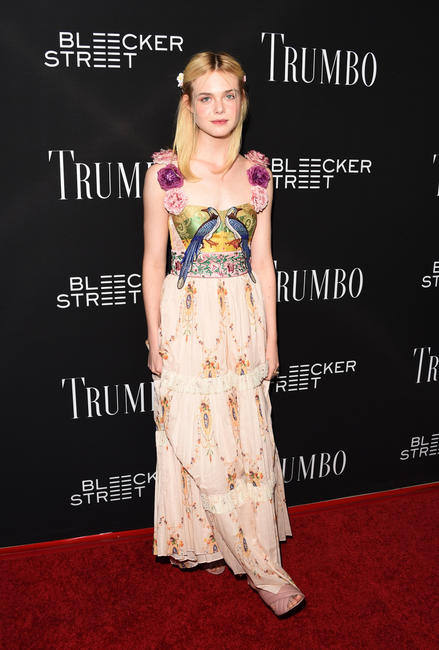 Elle Fanning at the California premiere of