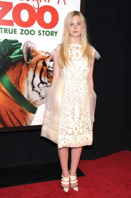 Elle Fanning at the New York premiere of