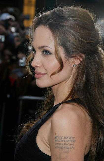 Angelina Jolie at the Hollywood premiere of