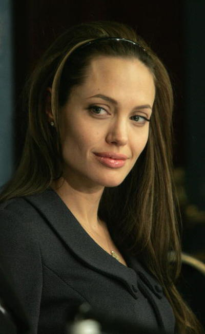 Angelina Jolie at the launch of