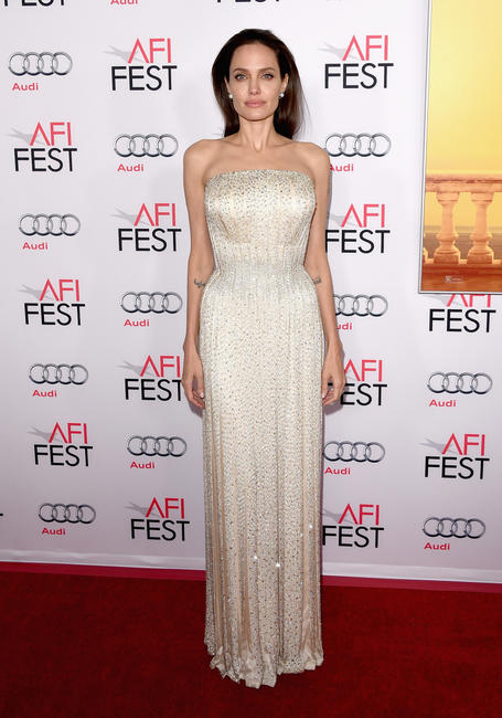 Angelina Jolie Pitt at the California premiere of