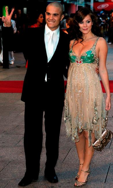 Kuno Becker and Anna Friel at the world premiere of