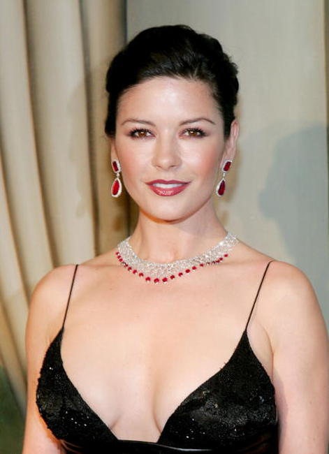 Catherine Zeta-Jones at the Eighth Annual Red Ball.
