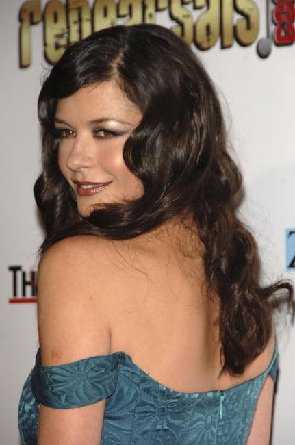 Catherine Zeta-Jones at the 2nd annual Motion Picture & Television Fund benefit.