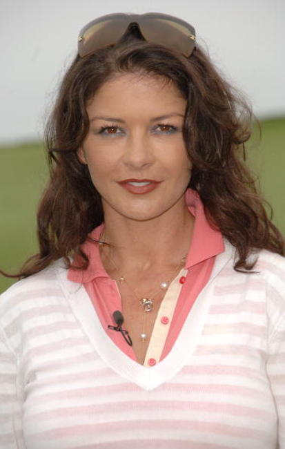 Catherine Zeta-Jones at the 9th Annual Michael Douglas & Friends Celebrity Golf Tournament.