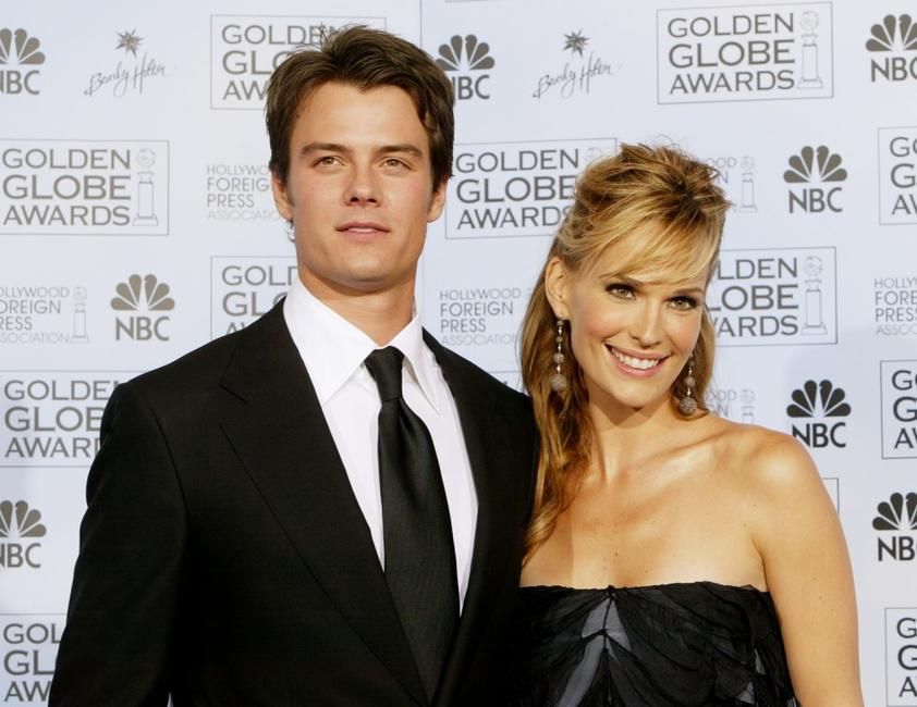 Josh Duhamel and Molly Sims at the 61st Annual Golden Globe Awards.