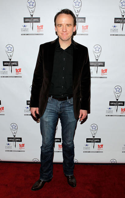 David Wilson Barnes at the 27th Annual Lucille Lortel Awards in New York.