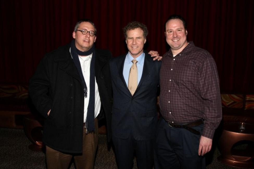 Adam McKay, Will Ferrell and Patrick Ferrell at the after party of the opening night of