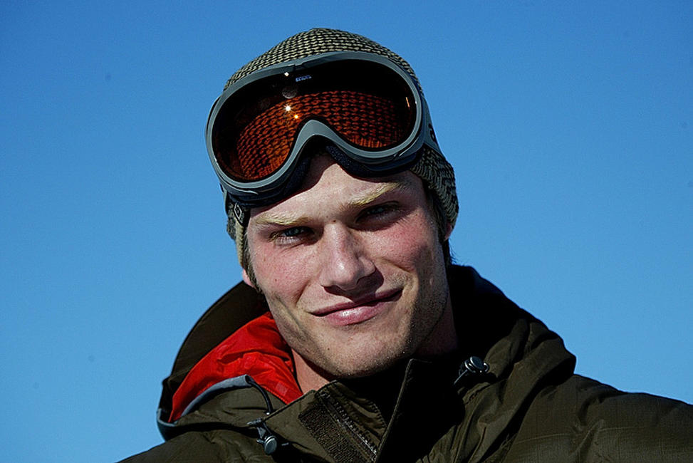 Chris Carmack at the Park City Resort during the 2004 Sundance Film Festival in Utah.