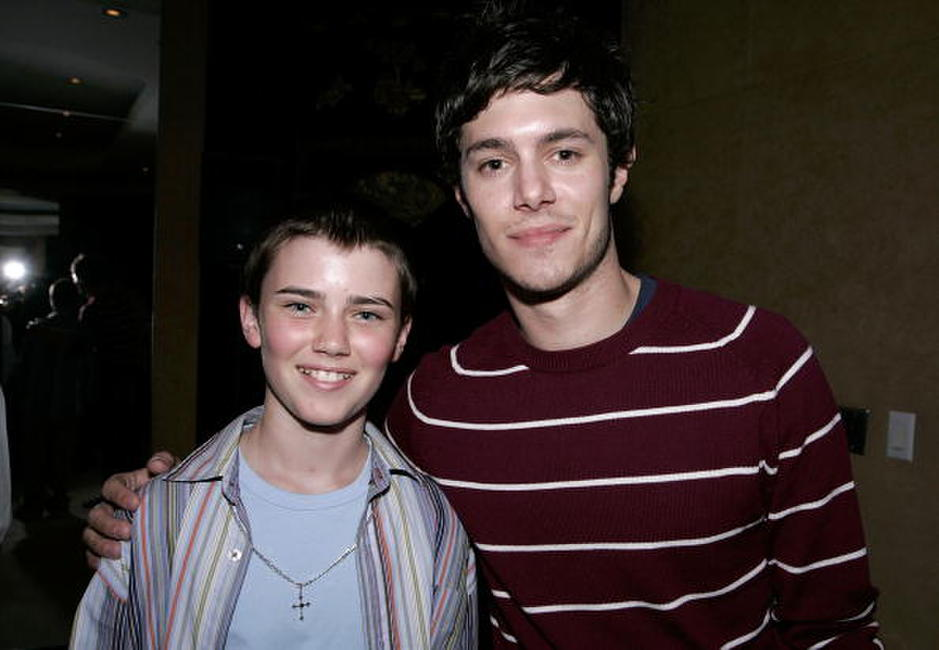 Cameron Bright and Adam Brody at the after party of