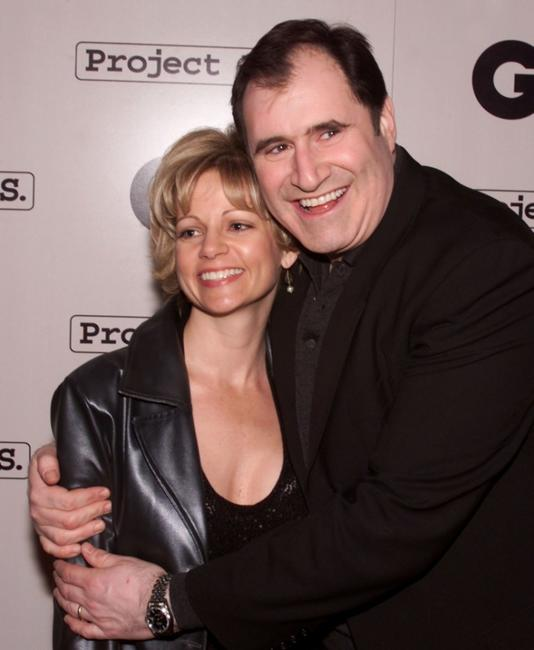Richard Kind and wife Dana at the party to celebrate GQ Magazine's second annual