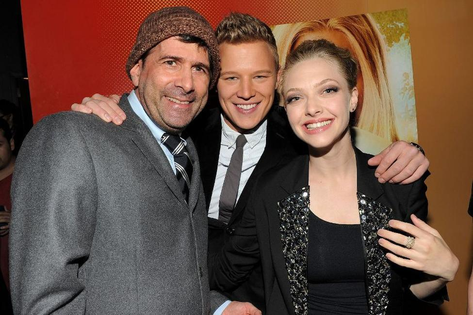 Gary Winick, Chris Egan and Amanda Seyfried at the New York premiere of