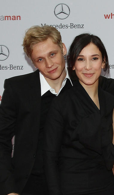 Matthias Schweighoefer and Sibel Kekilli at the Germany premiere of