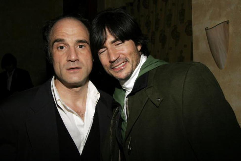 Elias Koteas and Billy Wirth at the Rockin New Year's Eve, Indeed party.