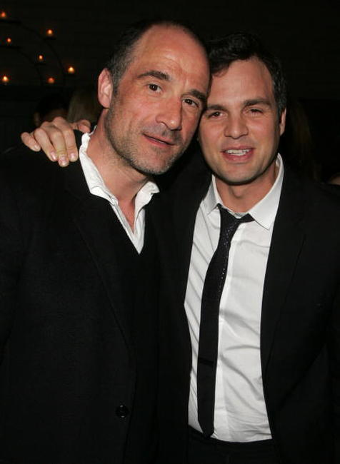 Elias Koteas and Mark Ruffalo at the after party for a private screening of