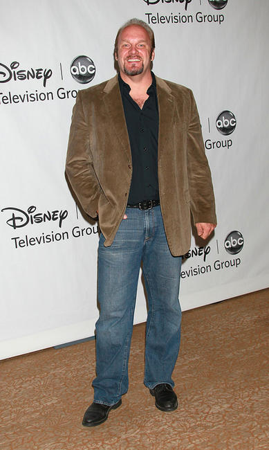 Eric Allan Kramer at the Disney ABC Television Group's Summer TCA party.