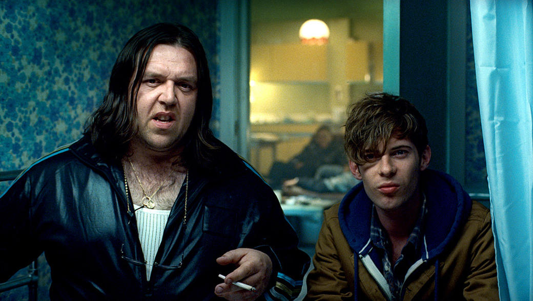 Nick Frost and Luke Treadaway in