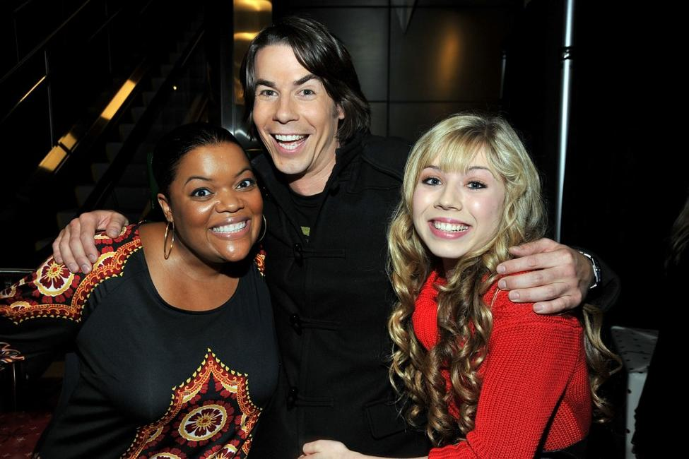 Yvette Nicole Brown, Jerry Trainor and Jenette McCurdy at the premiere of