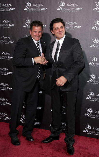 Anthony LaPaglia and Vince Colosimo at the L'Oreal Paris 2007 AFI Industry Awards.