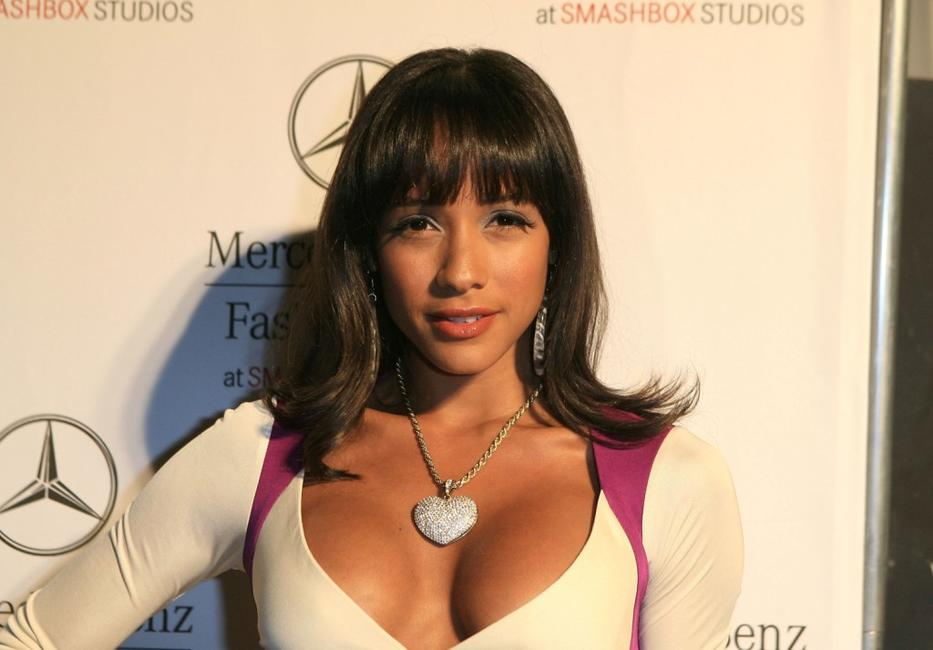 Dania Ramirez at the Mercedes-Benz Fashion Week.